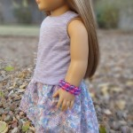 High Low Skirt for American Girl Dolls