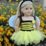 Bumble Bee and Ladybug Costume for American Girl Dolls