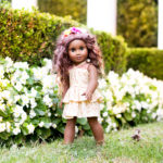 Free Tiered Dress Pattern for 18 inch Dolls