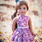 How to Sew Halter Dress for your 18 inch Dolls – Free Pattern